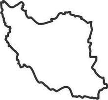 ササブログ-イラン白地図