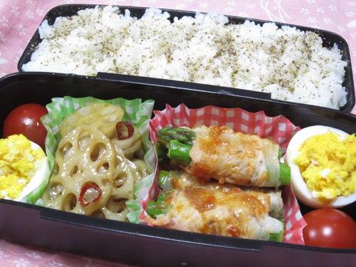 韓国料理サランヘヨ♪ I Love Korean Food-アスパラの豚肉巻きサムジャンソース