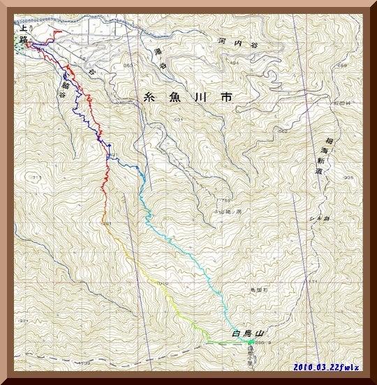 ロフトで綴る山と山スキー-gps_log