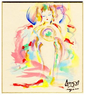 $☆幸せのタネ☆-光の球を抱く女神