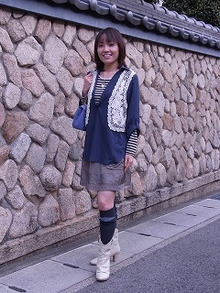 神戸のカラーリスト スタイリスト  トータル素敵プロデューサー☆みつこのブログ-今日のスタイル110225