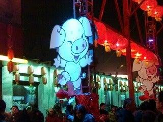 北京大学に短期留学をしました。-干支豚
