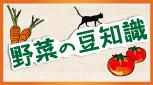 野菜の豆知識記事
