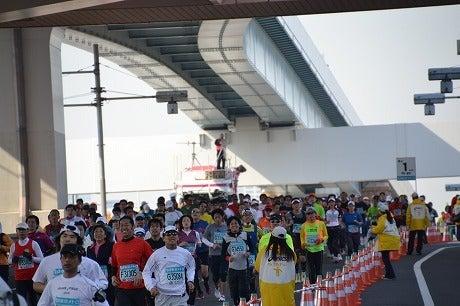 東京マラソン2011 ~ラスト1kmはみんなスマイル~