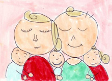 おえかきとナカシュン-family