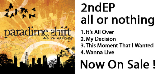 2nd EP all or nothing