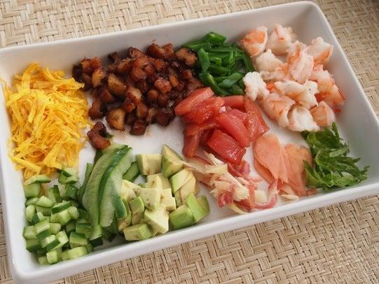 キヨミのガーデニングブログ,ちらし寿司の画像