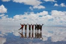 サトのブログ-塩湖到着!
