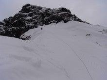前橋山岳会-滝沢リッジ最上部・ドーム