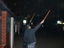 北京大学に短期留学をしました。-街中で打上花火