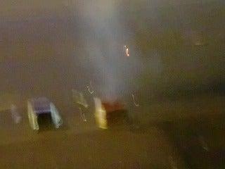 $北京大学に短期留学をしました。-道路の花火