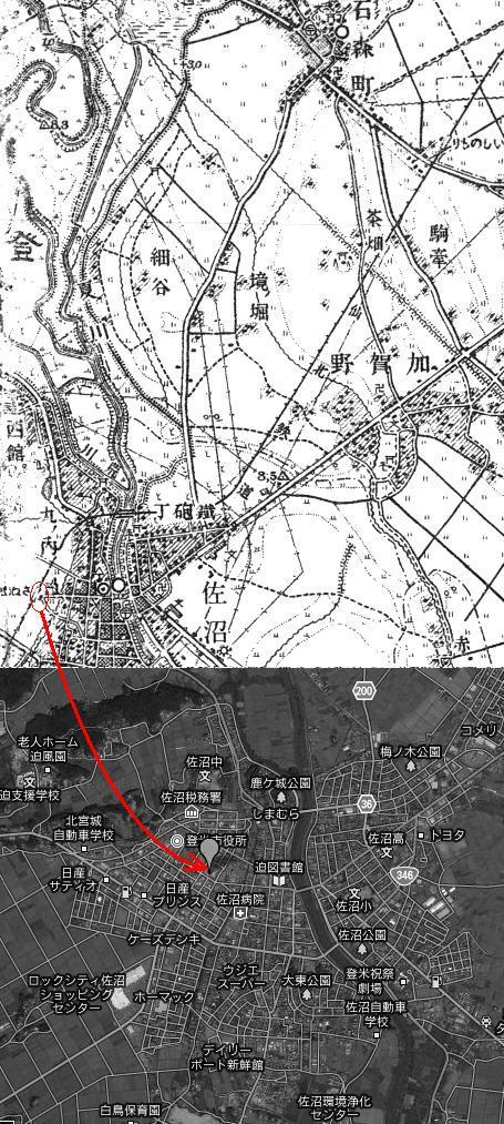 街や交通網の衰退を監視する....警「美」報 告 書 ☆彡   ▼CAMMIYA-登米市佐沼付近