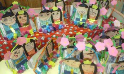 ハルKARAの量産型お尻テポドン夢日記-保育園雛祭り制作