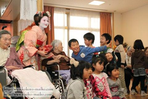 京都舞妓体験処『心』 スタッフブログ-舞妓体験ボランティア6