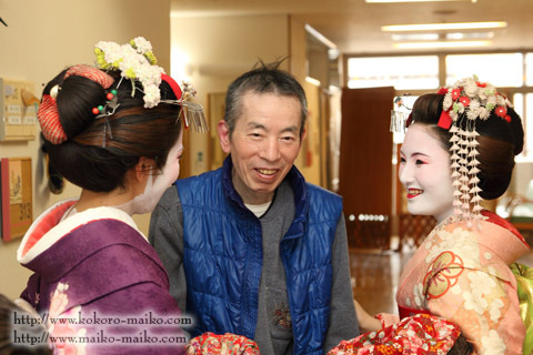 京都舞妓体験処『心』 スタッフブログ-舞妓体験ボランティア3