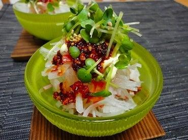 美味しい・楽しい・幸せな食卓-サラダ
