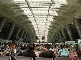 北京大学に短期留学をしました。-新幹線待合室