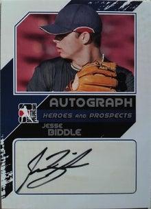 nash69のMLBトレーディングカード開封結果と野球観戦報告-2011-itg-biddle