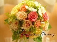 Plumerry(プルメリー)プリザーブドフラワースクール (千葉・浦安校)-蝶々 春のナチュラルブーケ デンファレ