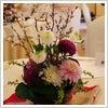 桜,和風,会場,装花,浅草,茶寮,一松