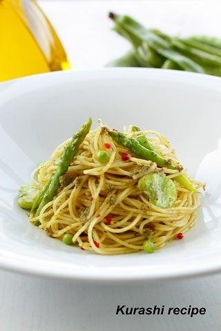 $旬菜料理家 伯母直美  野菜の収穫体験ができる料理教室 暮らしのRecipe-パスタ