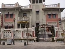 北京大学に短期留学をしました。-伝統建築物レストラン