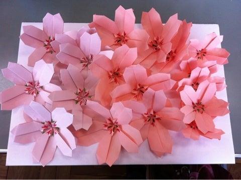 ハート 折り紙 折り紙桜の作り方 : matome.naver.jp