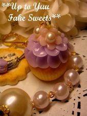 新米作家のフェイクスイーツデコ日記*Up to Yuu Fake Sweets*-お花マフィン