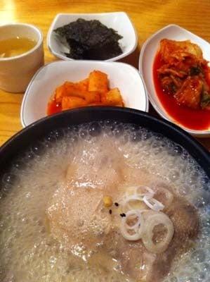 韓国料理サランヘヨ♪ I Love Korean Food-新大久保 高麗参鷄湯