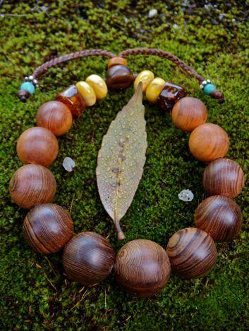 $木の魂ー屋久島から大自然の叡智をー-『木の叡智ブレスレット2』