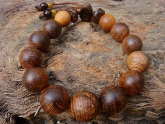 $木の魂ー屋久島から大自然の叡智をー-『木の叡智ブレスレット』