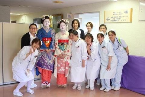 京都舞妓体験処『心』 スタッフブログ-ケアセンター回生職員2