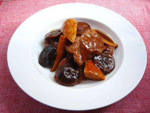 ひよこ食堂-豚肉とたけのこのオイスターソース煮02