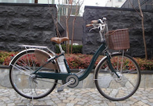 $中板橋の自転車屋 さいくるりん-エネループバイク