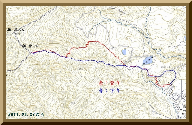 ロフトで綴る山と山スキー-GPS軌跡