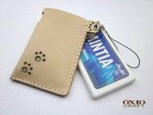 OXIO-CRAFT(オキクラ)の「革雑貨」製作日記-肉球MINTIA