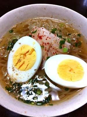 韓国料理サランヘヨ♪ I Love Korean Food-いちりき 冷麺