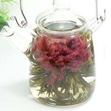 ティートサイトの店長日記-カーネーションの花が咲くお茶