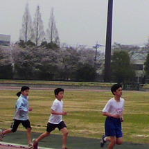 4月9日鴻巣競技場練…