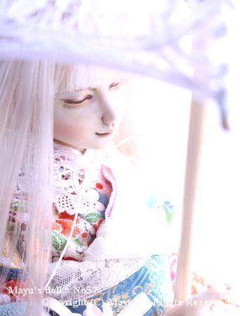 Mayu's doll* No57 「春を待つ君」