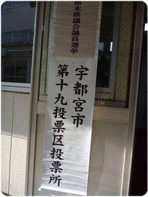 ひばらさんの栃木探訪-選挙