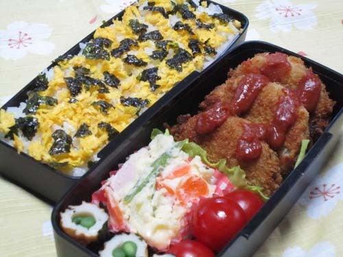 韓国料理サランヘヨ♪ I Love Korean Food-挽肉とれんこんのカツ・サムジャンソース
