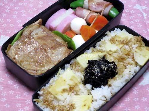 韓国料理サランヘヨ♪ I Love Korean Food-たけのこの炊き込みご飯