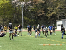 SUNDAI RUGBY MANAGER BLOG-チームラン
