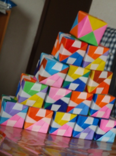 ハート 折り紙:折り紙 八角箱 折り方-divulgando.net