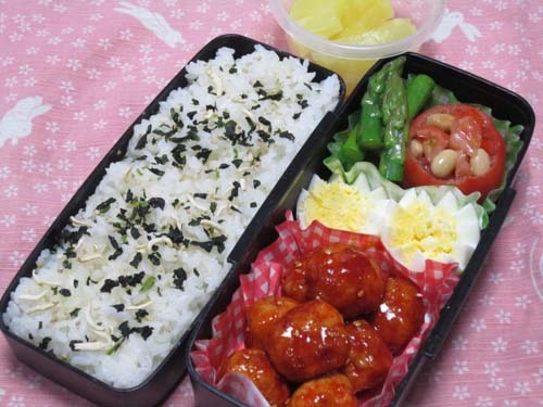韓国料理サランヘヨ♪ I Love Korean Food-ヤンニョムミートボール
