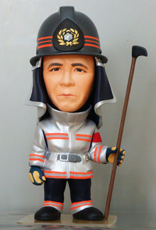 上賀茂からこんにちは。-ミーニイージーオーダー 消防士退職記念