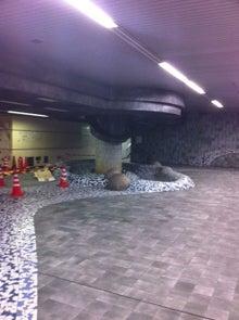 ちょんまげ通信-地下道2