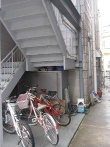 自転車置き場の雨対策 山 ...