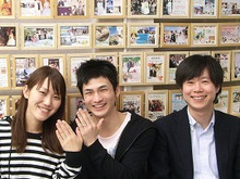 広島で婚約・結婚指輪を作る小さな宝石店『KOUKI倉迫』店長ブログ-清水裕太郎さま・蘭さま